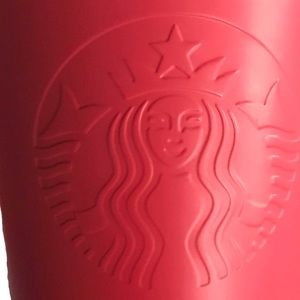 Starbucks Coral Matte Stainless Steel 16oz Tumbler